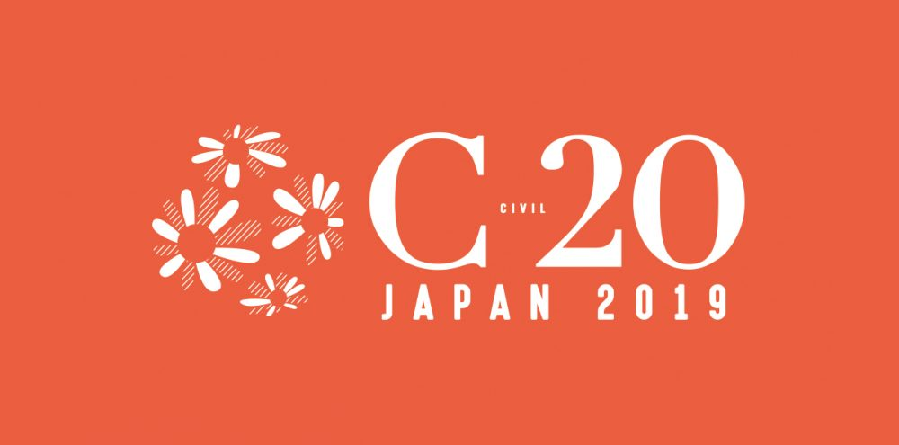 buy online 74392 c79c9 Save the dates for C20 Summit (21-23 April 2019, in Tokyo, JAPAN)
